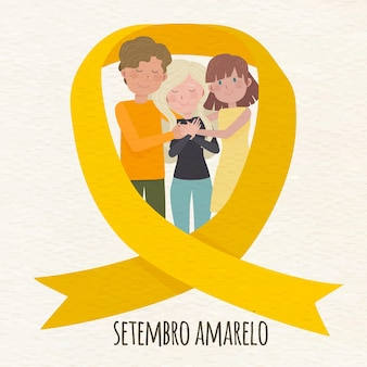 Setembro amarelo z ludźmi