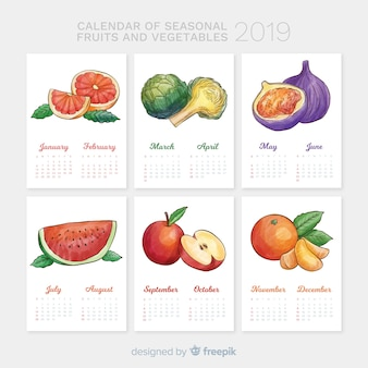 Sezonowy kalendarz warzyw i owoców