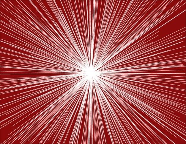 Shinny promienie gwiazda na ciemnym czerwonym tle