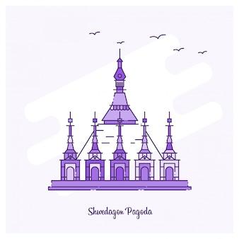 Shwedagon pagoda landmark