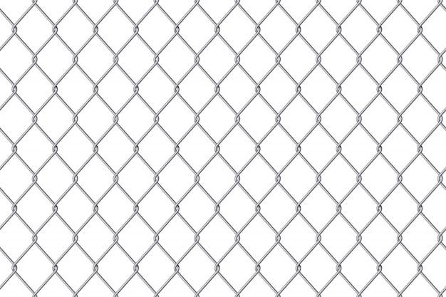 Siatka ogrodzeniowa siatka stalowa metalowa tło.