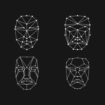 Siatka rozpoznawania twarzy