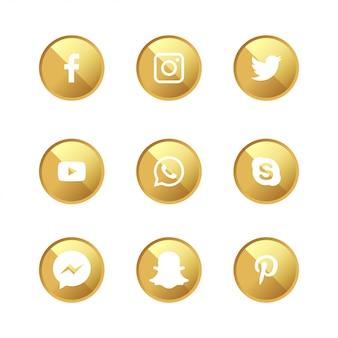 Sieci społecznościowe golden 9