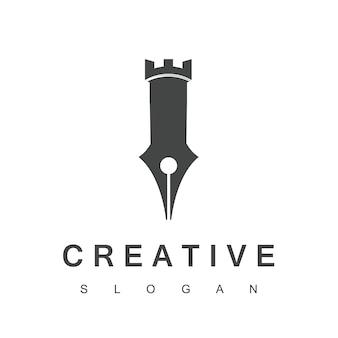 Silna inspiracja kreatywnego projektowania logo