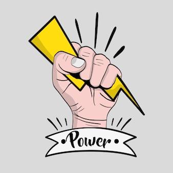 Silna rewolucja w rękach władzy