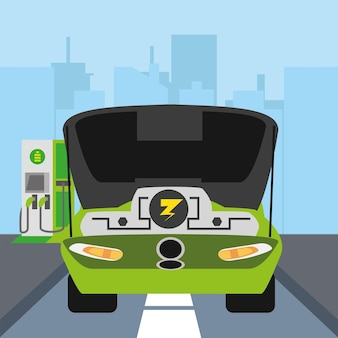 Silnik elektryczny samochodu
