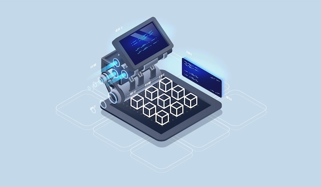 Silnik sieciowy, narzędzia programistyczne. rozwój oprogramowania. wizualizacja technologii.
