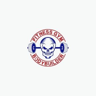 Siłownia fitness - odznaki -logo