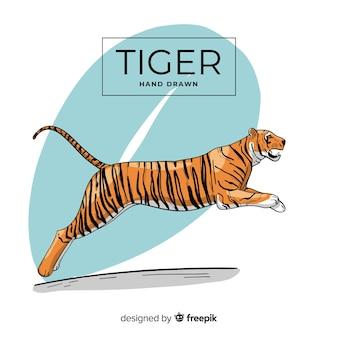 Skaczący tygrys