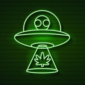 Skaner świetlny lub efekt laserowy. świecący promień światła scenicznego na przezroczystym tle. reflektor sceny projektora wektor. połysk zielono ufo