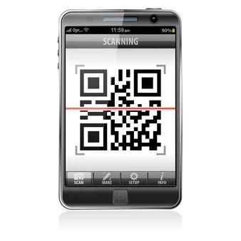 Skanowanie kodu qr na smartfonie