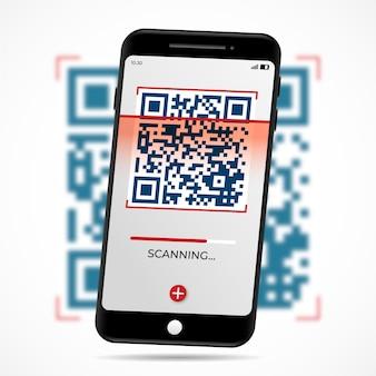 Skanowanie kodu qr smartfona