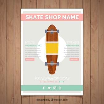 Skate broszura szablon
