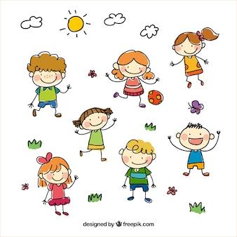 Sketchy dzieci