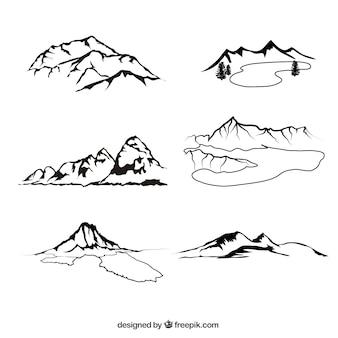 Sketchy terenu