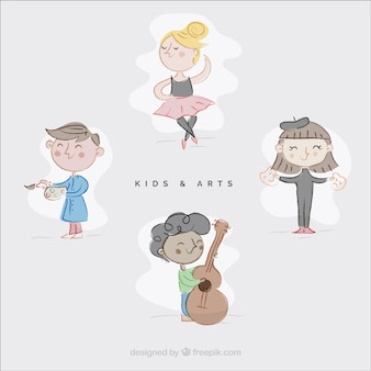 Sketchy utalentowane dzieci