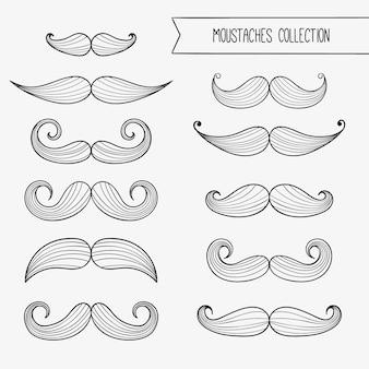 Sketchy wąsy movember kolekcji