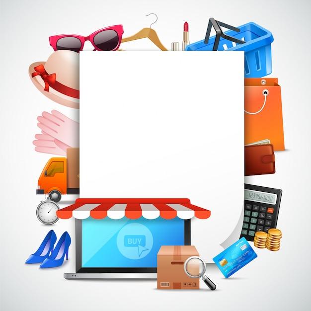 Skład papieru na zakupy
