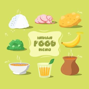 Skład żywności tradycyjnej kuchni indyjskiej