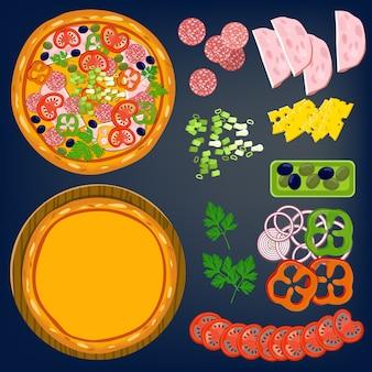 Składniki pizzy