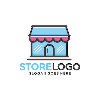 Sklep, detaliczny szablon logo