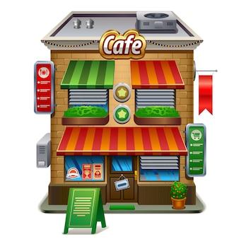 Sklep z kawą lub kawiarnia