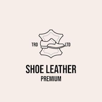 Skórzane logo premium na buty