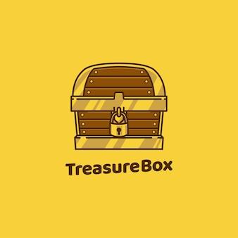 Skrzynia skarbów drewniana skrzynia pirata