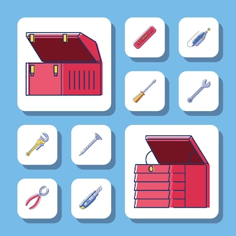 Skrzynki narzędziowe i narzędzia
