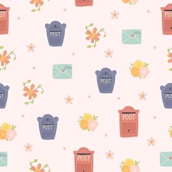 Skrzynki pocztowe wzór