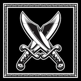 Skrzyżowane miecze