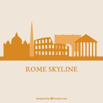 Skyline rzymu