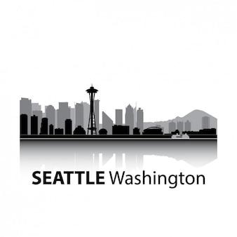 Skyline seattle projekt