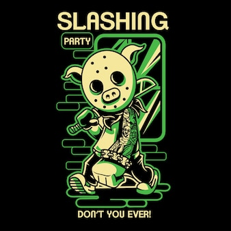 Slashing party 4
