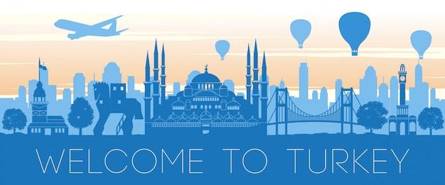 Sławny punkt orientacyjny w turcji