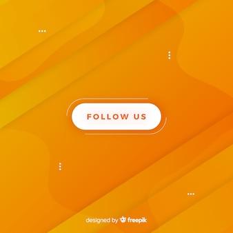 Śledź nas projekt przycisku