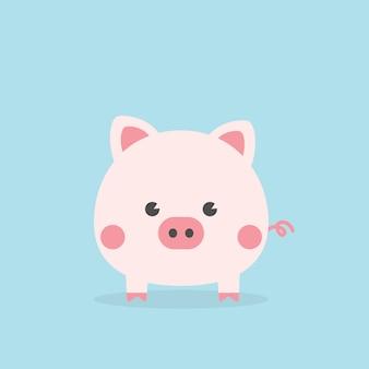 Śliczna świnka, rok świni.