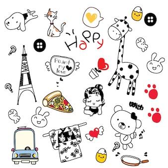 Śliczne doodle