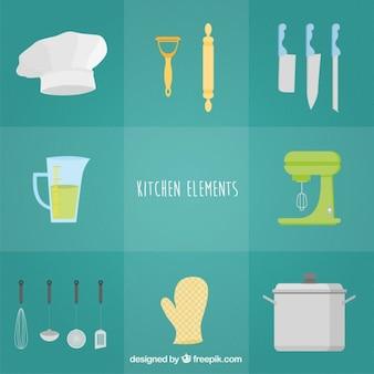 Śliczne elementy kuchenne
