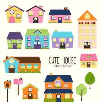 Śliczne małe domy