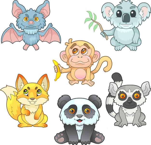 Śliczne małe zwierzęta