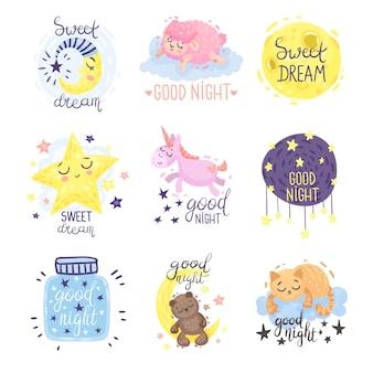 Śliczne obrazki z napisem dobranoc