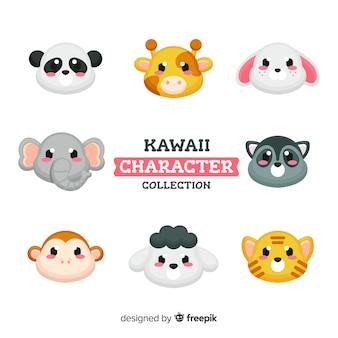 Śliczne postacie z kawaii