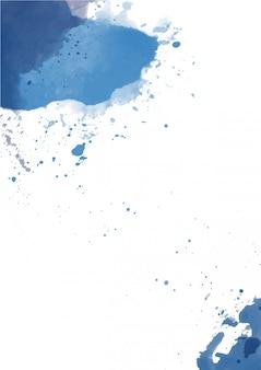 Śliczne splash streszczenie tło akwarela