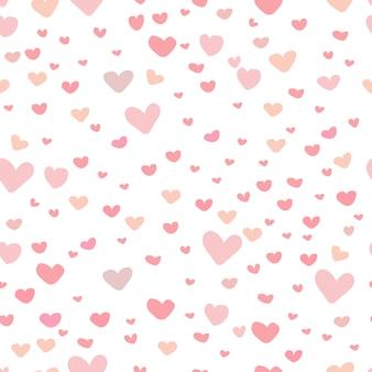 Śliczne tło wzór serca.