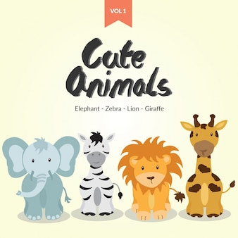 Śliczne zwierzęta znaków vol 1