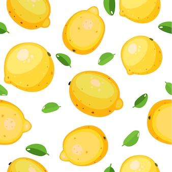 Śliczny deseniowy bezszwowy owoc