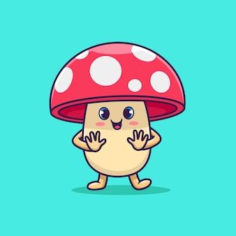 Śliczny grzyb