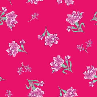 Śliczny kwiat tekstury tła projekta wzoru druk.
