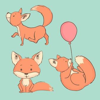 Śliczny lis
